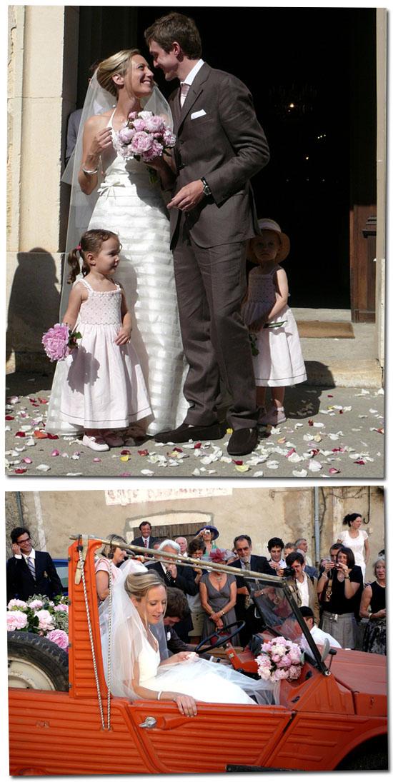 Julie et Julien mariés
