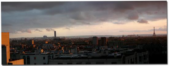 Rayon de soleil sur Paris