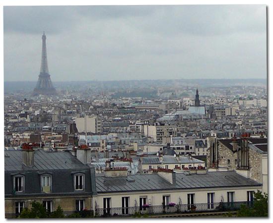 Paris tout gris