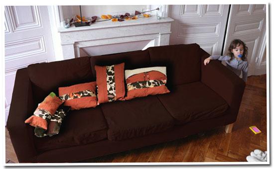 mon nouveau canapé
